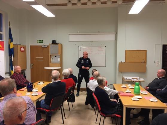 En av dem inbjudna var damlagets nya tränare Jan Wärn.