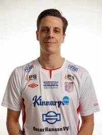 Johan Mangfors var tillsammans med Laholms målvakt bäst på plan idag. Foto: Anders Nilsson
