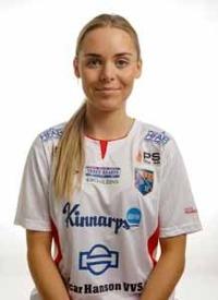 Damernas lagkapten Agnes Heinrich lovar glädje och bra fotboll imorgon. Foto: Anders Nilsson