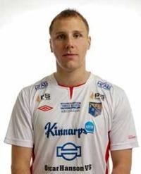 Niclas Taube gjorde en något oväntad comeback efter sina axelproblem och låg direkt bakom segermålet mot Högaborg. Foto: Anders Nilsson