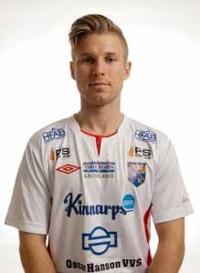 Per Gulda blev framröstad som bästa back i division 2 västra götaland. Nu återstår att se om han räcker till mot övriga div2-serier. Foto: Anders Nilsson