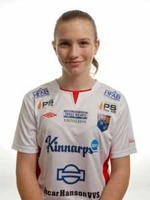 Selma Berggren är den senaste av Halmias talanger på landslagsnivå. Foto. Anders Nilsson