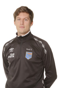 Emil Tillander, ny huvudtränare för året som ska leda IS Halmia ihop med Anders Wallin. Foto: Sportfoto Syd