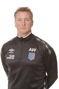 Anders Walin, ny huvudtränare ihpp med Emil Tillander.