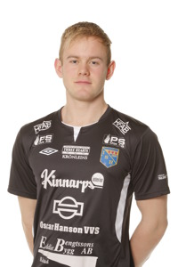 IS Halmias Malte Påhlsson är en av många som slåss om en plats i truppen till årets matcher, inte minst höstens EM-kval.                         Foto: Sportfoto Syd