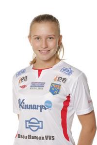 Selma Berggren får återigen chansen att visa upp sig i den blågula dräkten. Foto: Sportfoto Syd