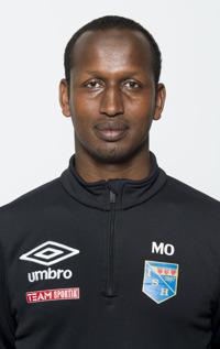 Mohammed Omar Jama, ny huvudtränare i Halmia Dam.