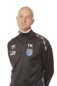 Timy Karlsson, här i Halmiakläder kommer att dressa om till blågult när han tillsammans med Roland Nilsson ska forma Sveriges nya U21-landslag. Foto: Sportfoto Syd