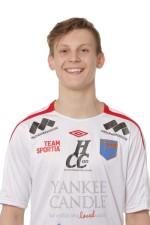 Hampus Gegö ny landslagsspelare från IS Halmia. Foto: Sportfoto Syd