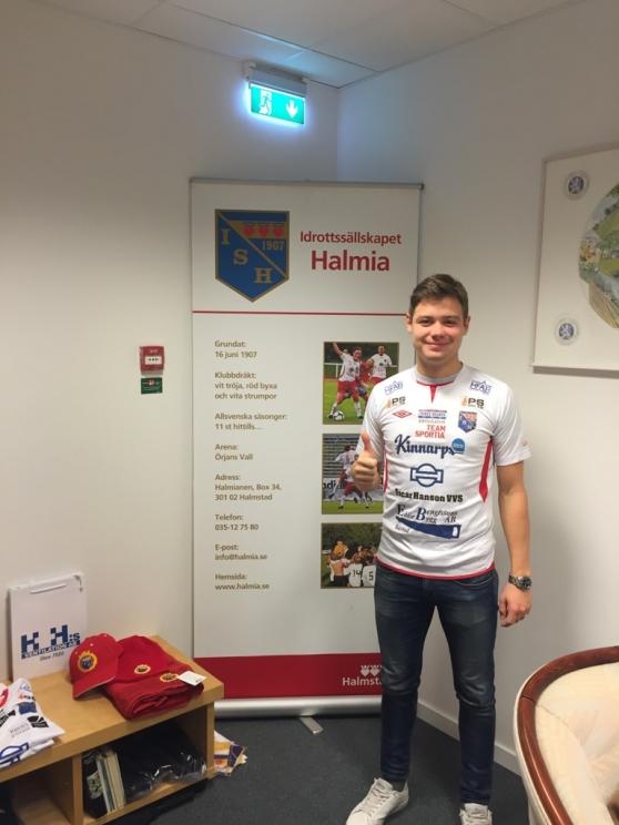 Rutinerade Erik Ferman återvänder till IS Halmia efter två säsonger i Tvååkers IF. Foto: Leif Jönsson