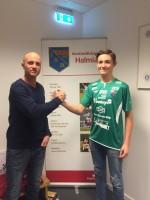 Målvaktstränare Timy Karlsson och Noel Törnqvist