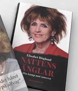Elisabet Höglund bok - Nattens änglar - min kamp mot cancern