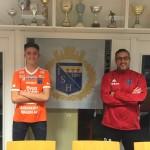 Noel Törnqvist & Huvudtränare 2019 Goran Ravnjakovic