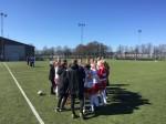 Segersång (Halmias egen) från laget efter dagens seger!!