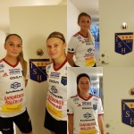 Från vänster: Emma Skantz, Tilda Boquist. Uppe Emmy Lundkvist, nere Tilda Lindau.