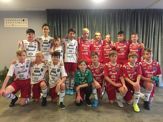 IS Halmia U13 under Decembercupen i Varberg 2019.