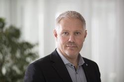 Anders Nelson, ordförande i IS Halmia. Foto: Halmstad Högskola
