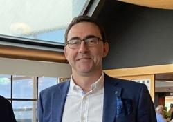 Magnus Backe, vice ordförande i IS Halmia. Foto: Privat