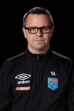 Stefan Lemon under sin tid som assisterande tränare.