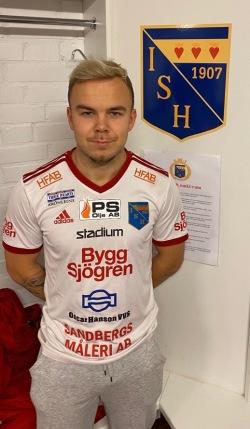 Rasmus Bengtsson stannar i IS Halmia. Foto: Privat