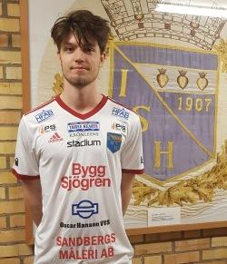 Andreas Åström gör comeback efter ryggproblem. Foto: IS Halmia