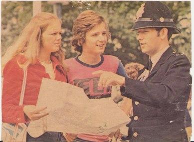 Jacob i England sommaren 1972