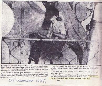 Göteborgs-Tidningen sommaren 1975