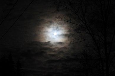Måne över Anebo. Foto Ada. KLICKA för STÖRRE bild