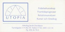1992 - ny adress o tel.