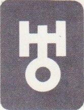 Uranus tecken i kartan