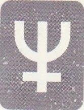 Neptunus tecken i kartan