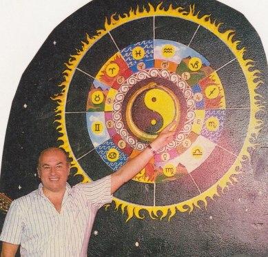 Bert Yoga Jonson blev Yogson. Foto 1987