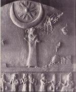 Stele från Ur Nammu ca 2100 f.kr