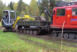 Bandvagn 206 dumper