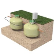 BAGA EASY 1 HUSHÅLL Minireningsverk Biotank