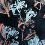 glaskonst blommor