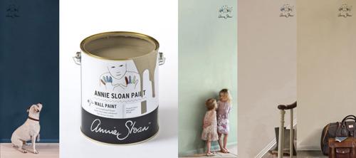 Annie Sloan Wall Paint 10 kulörer i Monicas Butik & web-shop