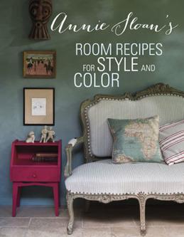 Annie Sloan böcker i Monicas Butik Sverige. Room recipes for style and colour.