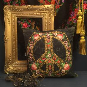 Kuddfodral Van Asch Make Peace