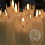 Ljus, spetsljus 25 cm