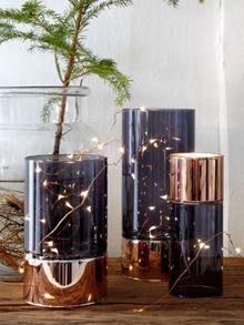 Ljuswire Glow, silver 50 ljus