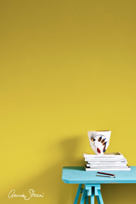 Wall Paint English Yellow provburk