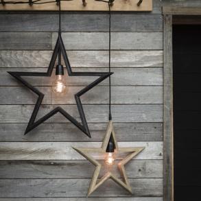 Stjärna Farm Star Svart 45 cm