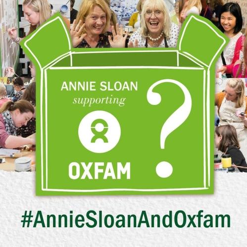 Annie Sloan lanserar ny produkt i samarbete med Oxfam.