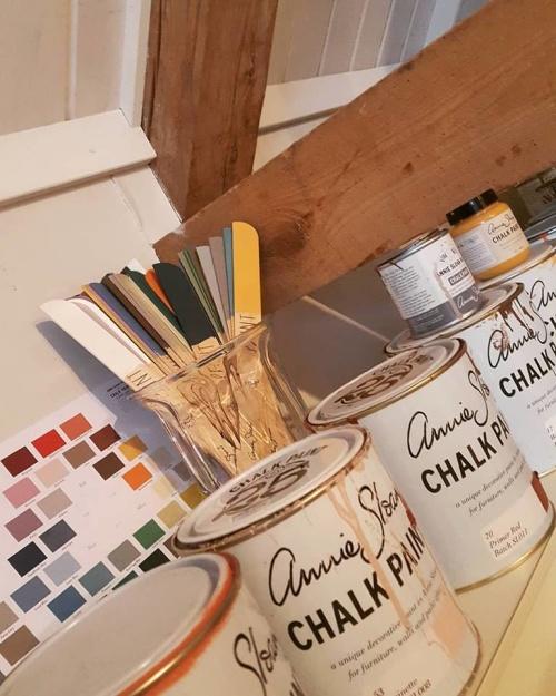 Kurser, måla möbler med Annie Sloan Chalk Paint.