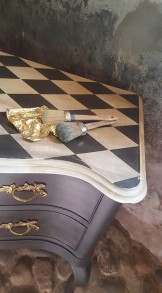 181013 Måla möbel - effekter & patina