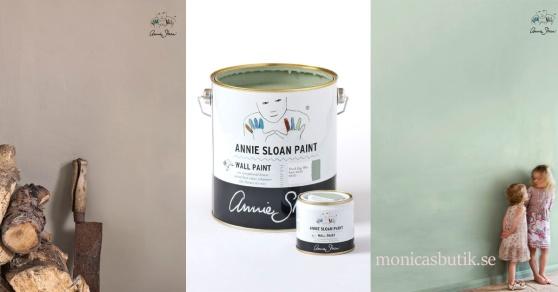 Annie Sloan Wall Paint, väggfärg för alla rum i ditt hem.