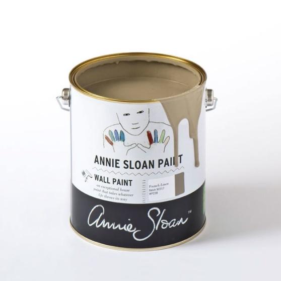 Annie Sloan Wall Paint, väggfärg som ger en lyxig känsla men som har en tålig yta.