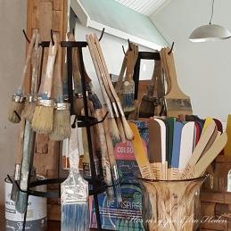 Kurser, måla möbler med Chalk Paint™, workshops och temadagar i Ateljén i Monicas Butik.