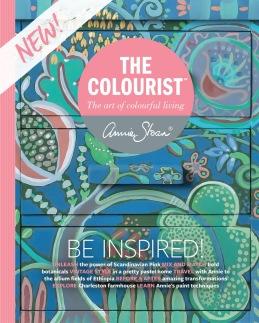 Annie Sloan bok magazine the Colourist i Monicas Butik
